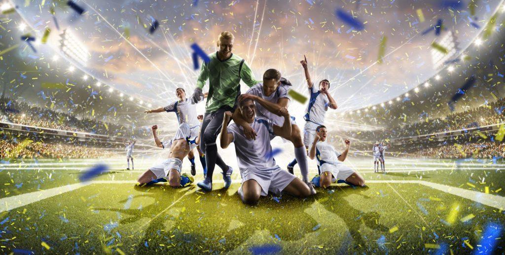 Fussball Mannschaft